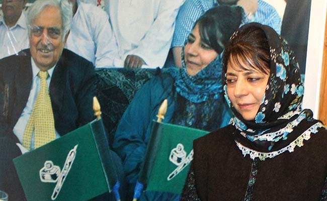 Mehbooba Mufti To Be Sworn In Today As Jammu And Kashmir Chief Minister