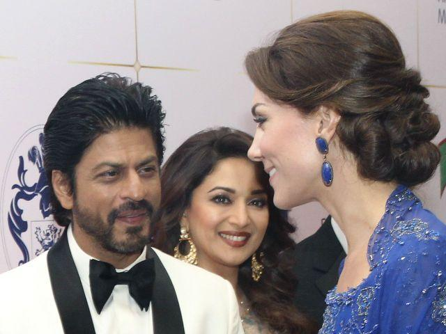 Shah Rukh Met Prince William and Kate Middleton. What he Says About Them