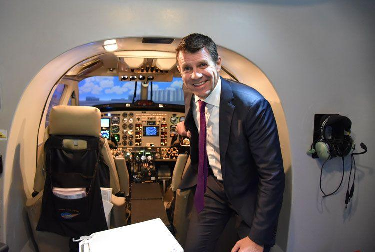 NSW Premier Mike Baird Returns From Israel To Announce Powerhouse Site