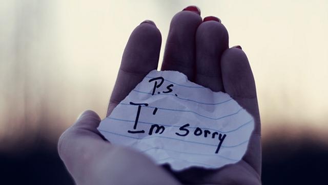 Scientists reveal best way to say sorry and show that you mean it