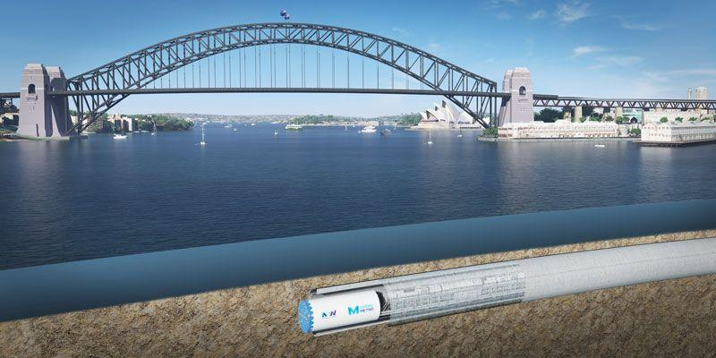 All Systems Go For New Metro Tunnels Under Sydney Harbour And CBD