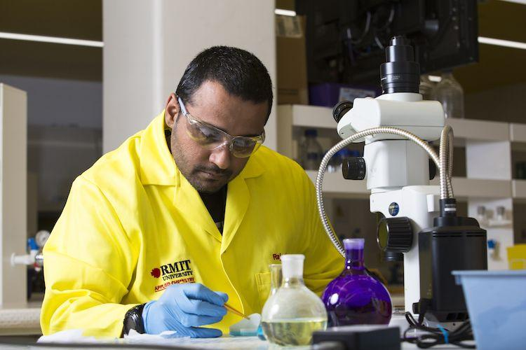 Rock band to Research, meet Dr Rajesh Ramanathan the RMIT Scientist in the news