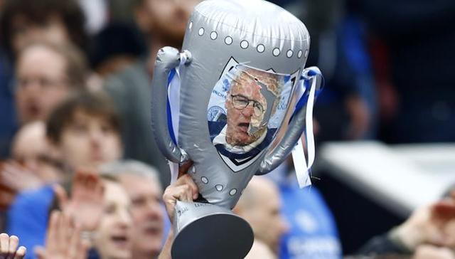 Leicester City win Premier League title for first time in 132-yr history
