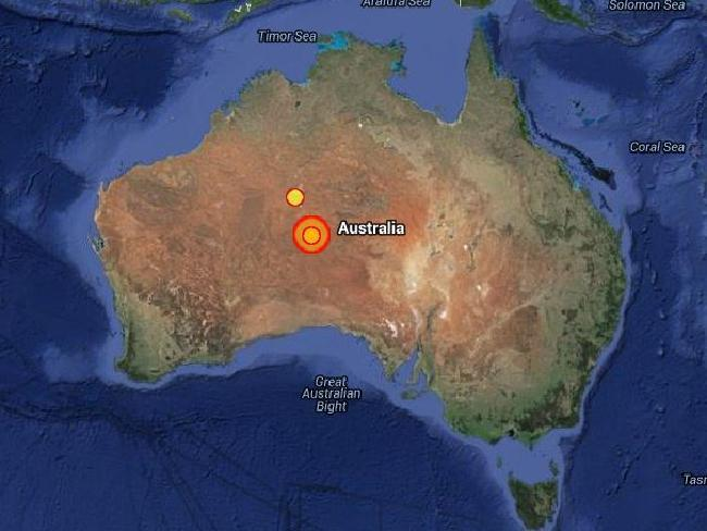 Northern Territory rocked by earthquake of magnitude 6.1