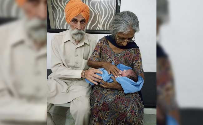 70-Year-Old Woman In Punjab Gives Birth To First Baby