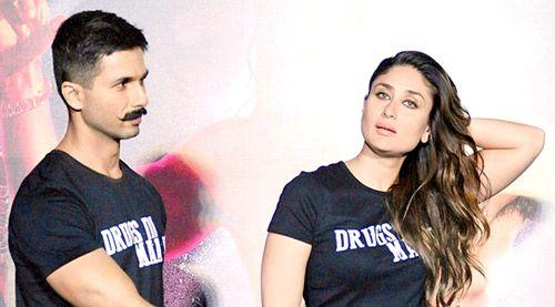 Shahid Kapoor, Kareena Kapoor Khan to avoid one another during Udta Punjab promotions