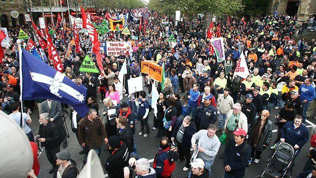Penalty rates a key poll issue for unions