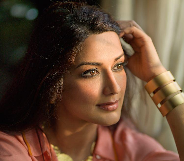 """Sonali Bendre's new role as author - """"The Modern Gurukul"""""""