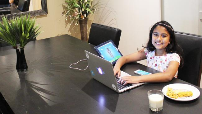 A nine-year-old Indian Australian girl Anvitha Vijay just stole the whole damn show at Apple's annual conference