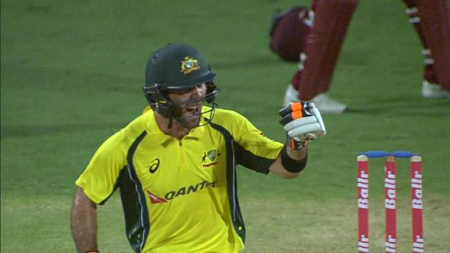Maxwell magic helps Aussies win thriller