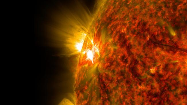 The face of the Sun has 'gone blank' and Planet Earth could be heading for an Ice Age