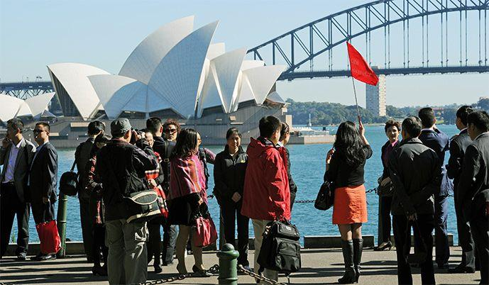 Visitors from China hit 1.12m in a year