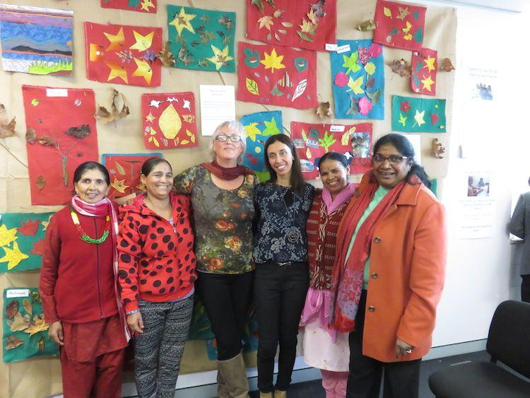 Multicultural seniors benefit from art therapy