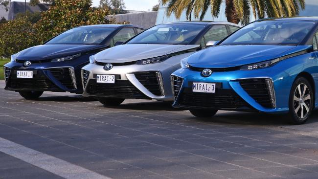 Toyota Mirai hydrogen cars land in Australia for landmark three-year trial