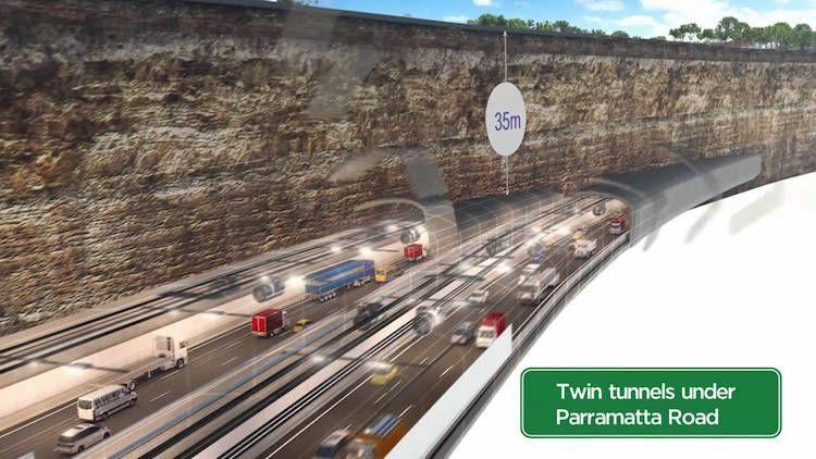 Tunnelling Begins On Westconnex M4 East