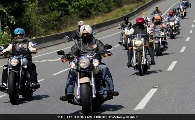 Sikh Bikers Ride 12,000 Km, Raise $60,000 For Cancer Charity In Canada