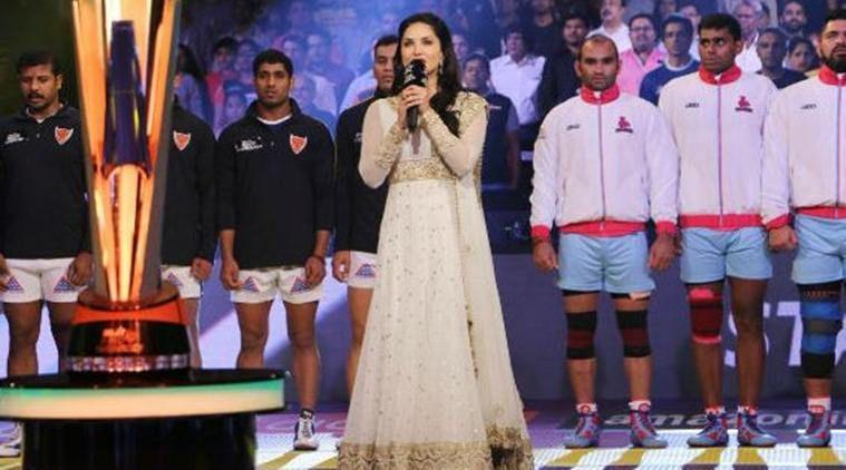 Sunny Leone was nervous to sing national anthem