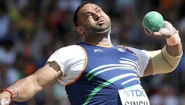 Shot putter Inderjeet Singh alleges conspiracy after failing dope test