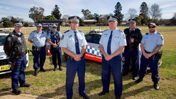 Assistant Commissioner Hartley appeals to Hawkesbury community to share road safety responsibility