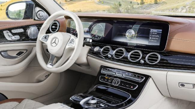 The world's most advanced car — the new Mercedes E Class — goes on sale in Australia today
