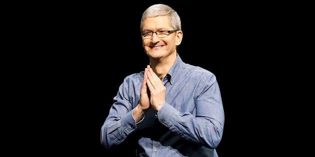 Apple CEO Tim Cook Lauds India As One Of The Fastest Growing Markets