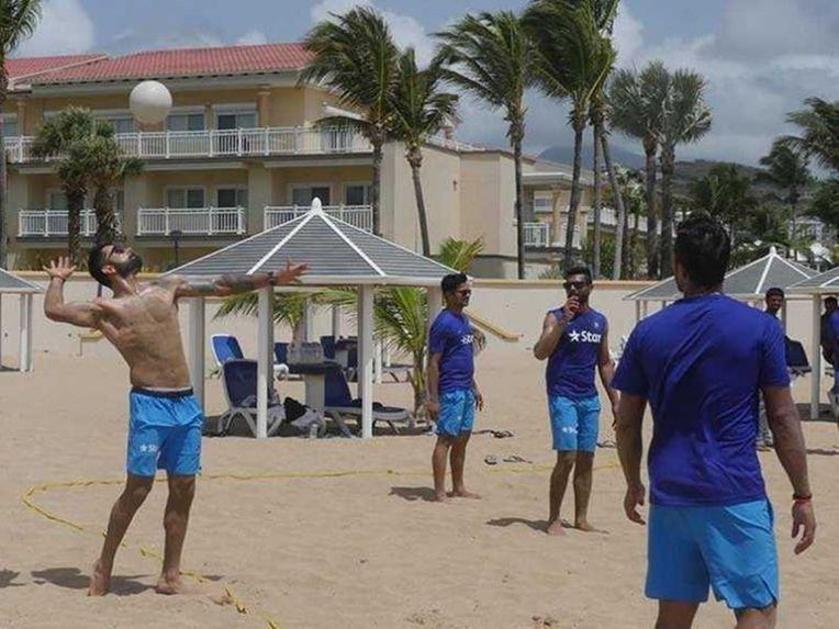 India in West Indies: Beach Volleyball Keeps Virat Kohli & Co. In Shape