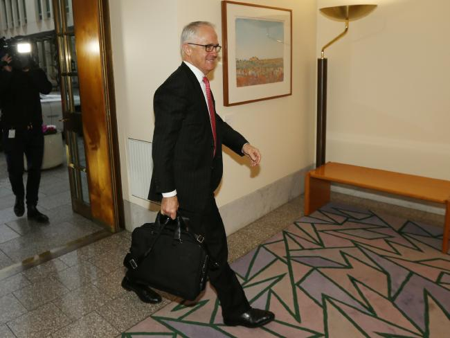 Malcolm Turnbull back to work as Prime Minister with tumultuous term ahead