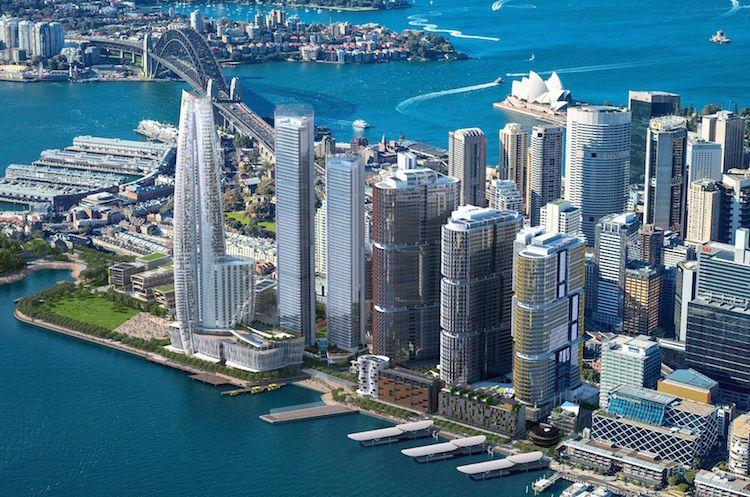 Towers over 300m high in Sydney vision