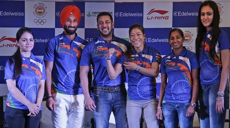 Rio Olympics 2016: Salman Khan to present Rs 1 lakh cheque to each Indian athelete