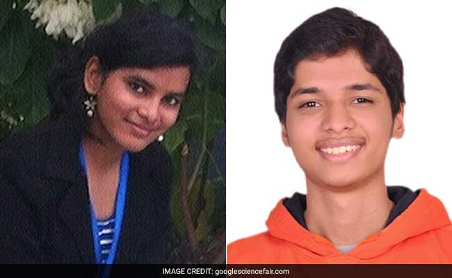 2 Indian Teens Among Global Finalists At Google Science Fair