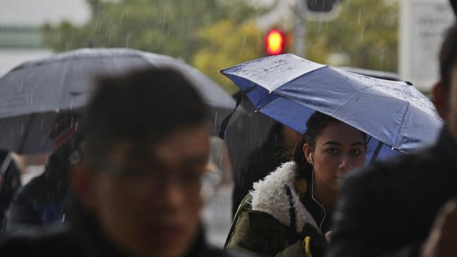 Rain predicated across east coast — and Sydney's going to cop the worst of it