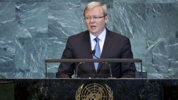 Cabinet voted 11-10 in favour of Rudd's UN bid before Malcolm Turnbull's captain's pick