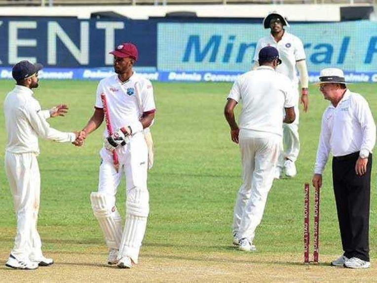 2nd Test: Roston Chase's Gritty Ton For West Indies Denies India Victory
