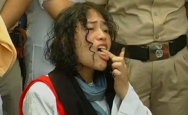 Irom Sharmila 'Dejected', Back To Hospital After Breaking 16-Year Hunger Strike