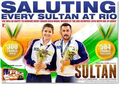 YRF to honour Indian athletes who win gold in Rio Olympics 2016