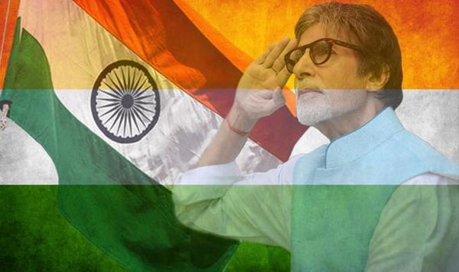 May India be free from rape: Amitabh Bachchan pledges on Independence Day