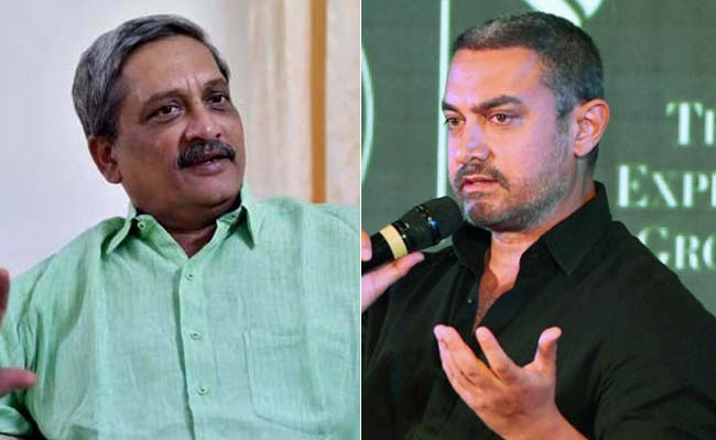 Backlash After Defence Minister Talks Of 'Lesson' To Aamir Khan And Snapdeal