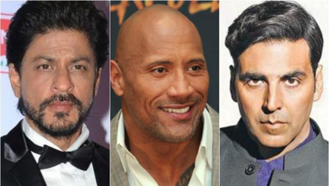 Shah Rukh Khan, Akshay Kumar Are Among World's 10 Highest-Paid Actors