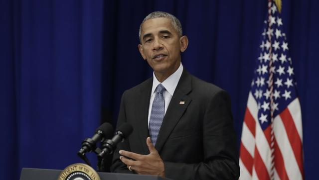 After weekend bombings, Obama asks Americans not to 'succumb to fear'