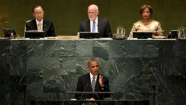 Diplomacy, not force, way to end brutal Syria conflict: Obama at UNGA