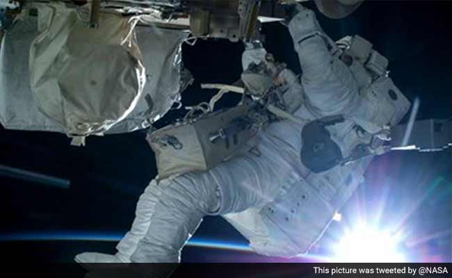 Spacewalking US Astronauts To Fix, Improve International Space Station
