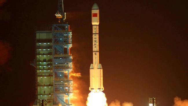 Earth-bound space station Tiangong-1 'out of control' China says, meaning it could land anywhere