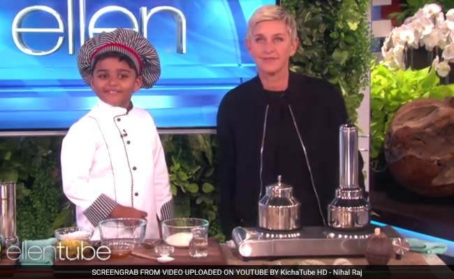 6-Year-Old Indian Chef On 'The Ellen DeGeneres Show'