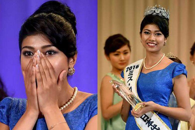 Woman of Indian descent crowned Miss Japan