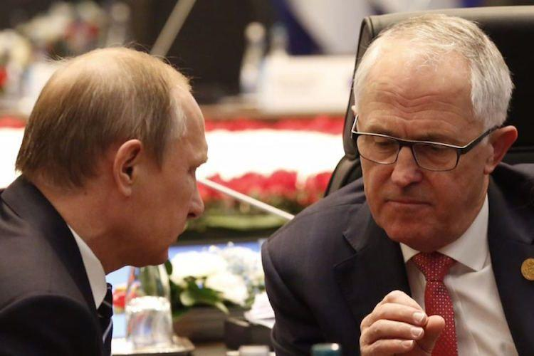 Malcolm Turnbull and Putin at G20 summit 2016: 'Who are you fighting for?'