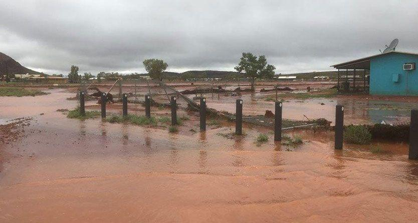 Tourist missing after car swept away in floods near Alice Springs