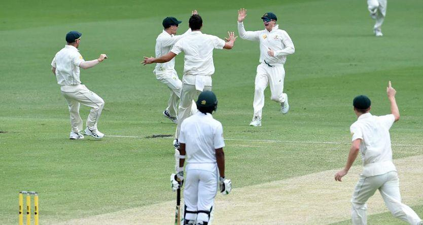 Australia v Pakistan: Aussies eventually wrap up nail-biting first-Test victory by 39 runs