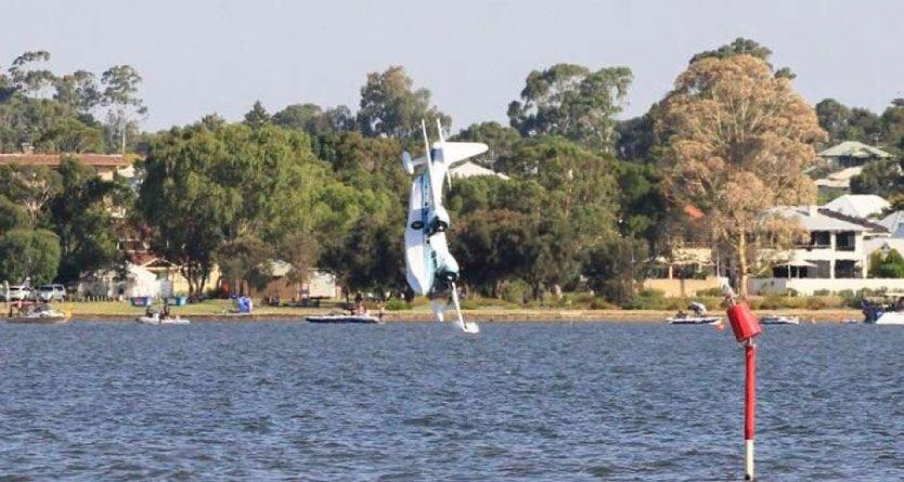 Australia Day plane crash: Two dead, Perth Skyworks event cancelled