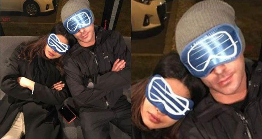 Sleepy Priyanka Chopra and Baywatch co-star Zac Efron waiting for summer to come?