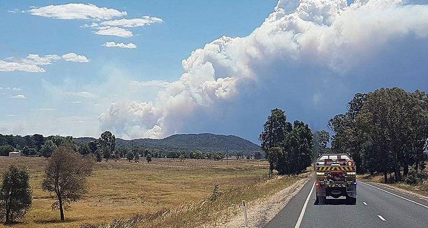 Fire crews survey losses from NSW bushfires as extreme weather eases